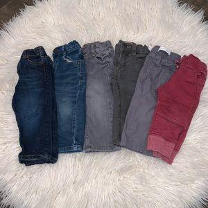 12 month boy jeans/pants